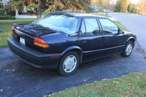 Sell Used Blue 95 Saturn Sl 5 Speed Standard In Syracuse