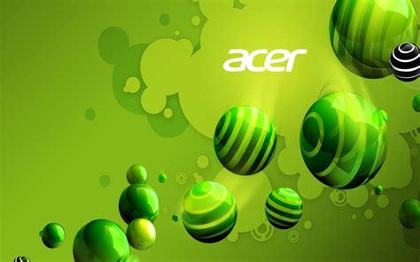 acer vert fond decran publicite de marque apercu