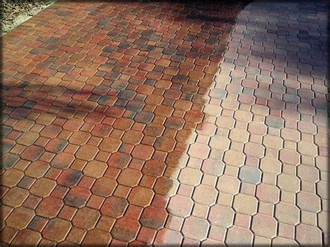 Patio Acid Stain by Paver Sealing What Paver Sealer To Use