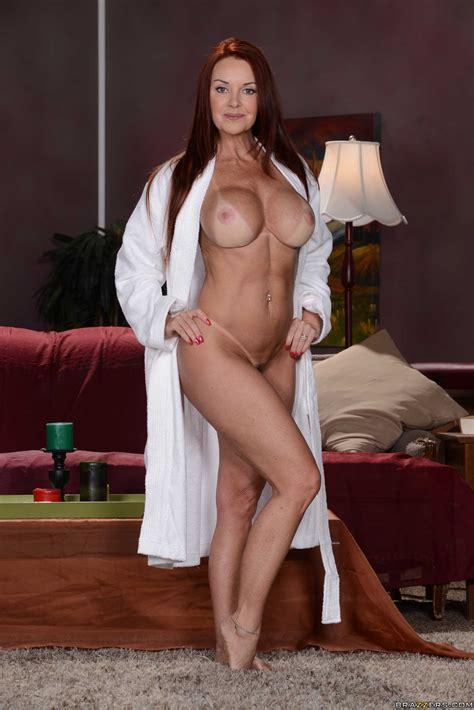 Auburn Haired Milf Masturbating Her Tan Lined Body Photos Janet Mason MILF Fox