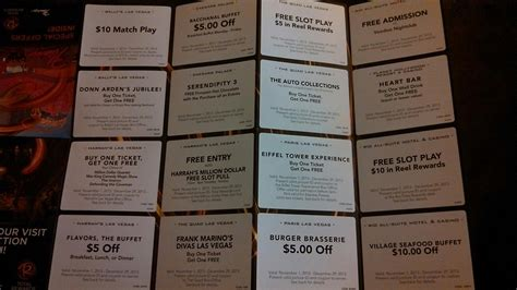 Caesars Entertainment Check In Get Coupons Nov 2019