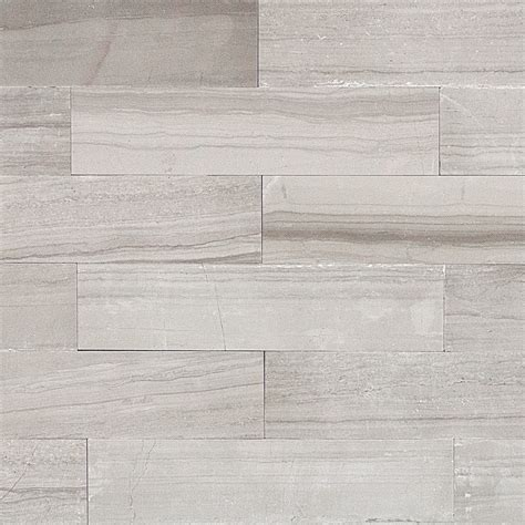 bathroom wall texture ideas shop 9 pcs sq ft athens gray 2x8 brushed tile at