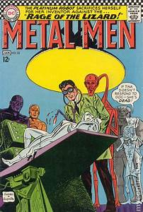 Cover Letter Into Metal Men 1963 1st Series Comic Books