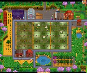 Stardew Valley Farm Layout