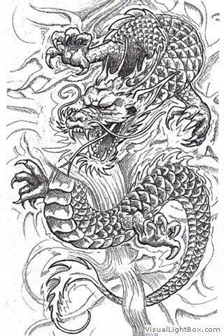wallpapers images  pour dessin dragon japonais