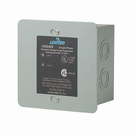 surge whole protector leviton panel supressor mount protection smarthome suppressor above