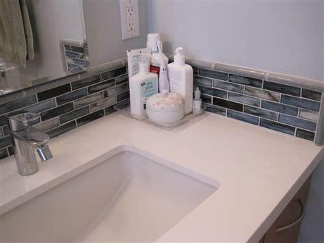 Bathroom Sink Backsplash Ideas by Mosaic Tiles Corner Bathroom Sink Bathroom Backsplash