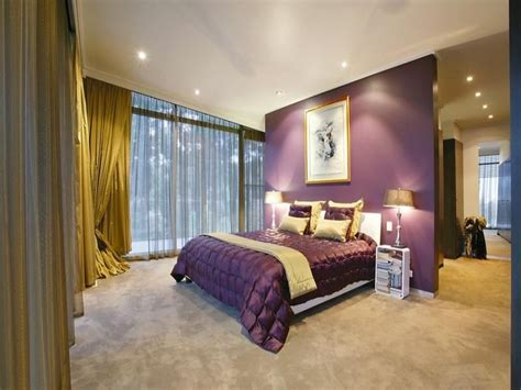 Modern Bedroom Design Idea With Carpet & Floortoceiling