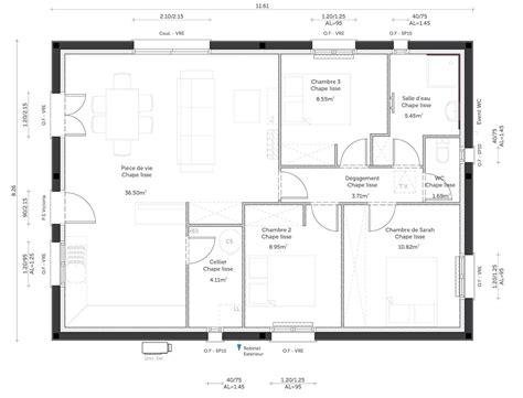 Plan Maison Carre