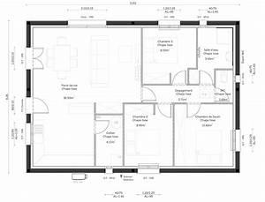 une premiere maison de 80m2 habitables constructeur With plans de maison en l 8 conception et realisation de plans maison dessin