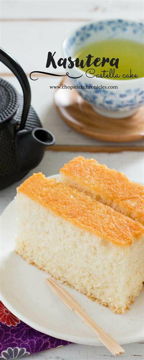 kasutera japanese castella cake chopstick chronicles