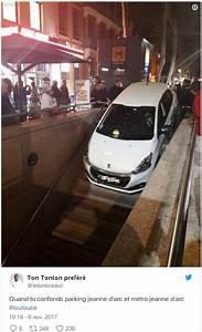 Toulouse Bordeaux Voiture : vid o toulouse une landaise encastre sa voiture dans une entr e de m tro sud ~ Medecine-chirurgie-esthetiques.com Avis de Voitures