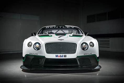 Bentley Race Car by 2014 Bentley Continental Gt3 Race Car Breaks Cover