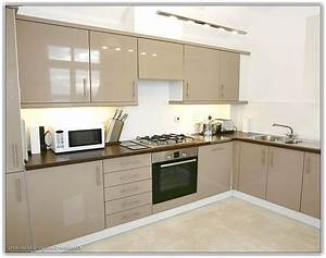 Painted Beige Kitchen Cabinets Home Design Ideas