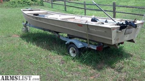 Bass Pro Flat Bottom Boats by Armslist For Sale Trade 14 Flat Bottom Boat