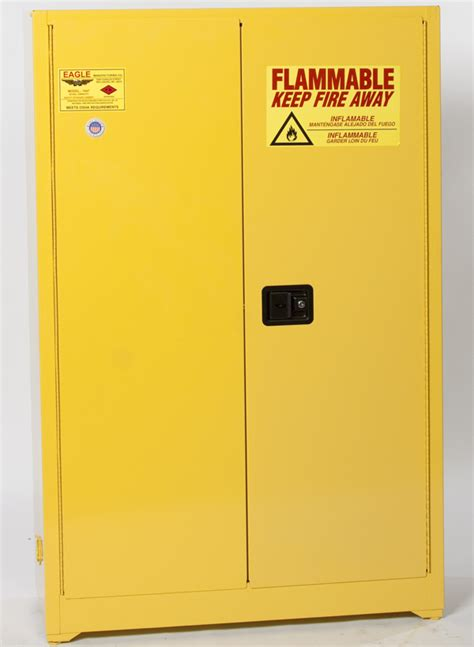 flammable safety cabinet 12 gal yellow eagle flammable liquid safety storage cabi 45 gal yellow