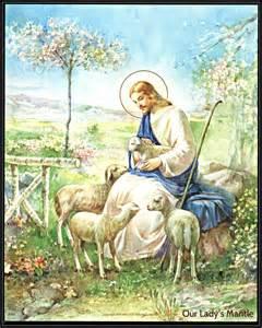 Jesus the Good Shepherd Art Print