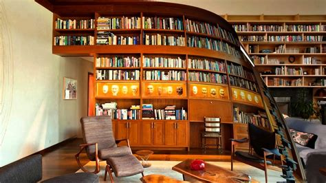 Living Room With Fireplace And Bookshelves by Library Design Home Decor Library Design Trends Library