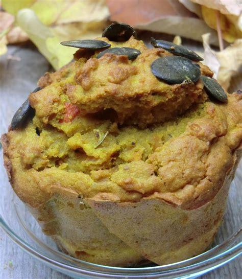 cuisine sans lactose muffins salés au potimarron à la farine de teff sans
