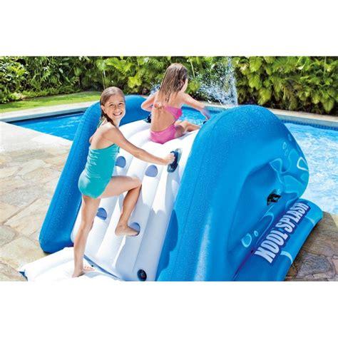 pour piscine toboggan gonflable pour piscine enterr 233 e intex 224 prix mini