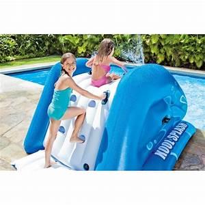 Toboggan Pour Piscine Hors Sol : toboggan gonflable pour piscine hors sol mes enfants et b b ~ Carolinahurricanesstore.com Idées de Décoration