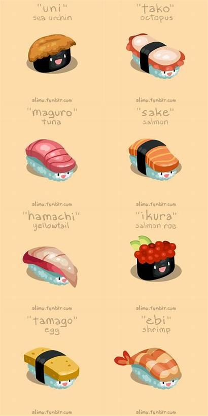 Sushi Names Japanese Fish Japan Finally Nigiri