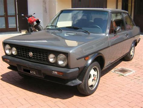 Fiat 131 Abarth For Sale by 1984 Fiat 131 Abarth Volumetrico Classic Italian Cars