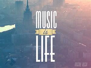 """CoriMag Wallpaper of the Week #2: """"Music Is Life"""" (Moscow ..."""