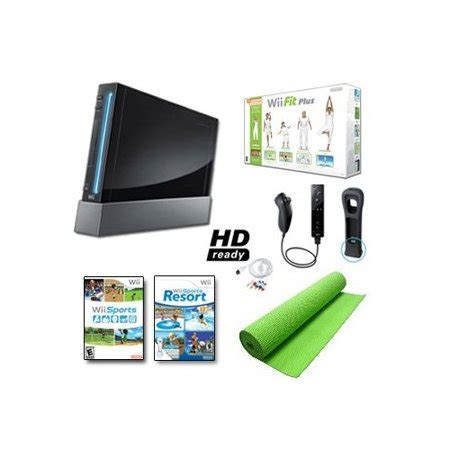 pedana wii fit plus refurbished nintendo wii black system wii fit plus balance