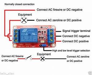 Dc5v 9v 12v 24v H  L High  Low Level Trigger Turn On Off