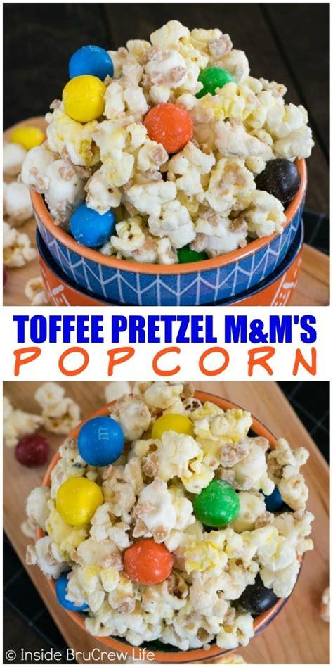 White Chocolate Pretzel Popcorn Recipe