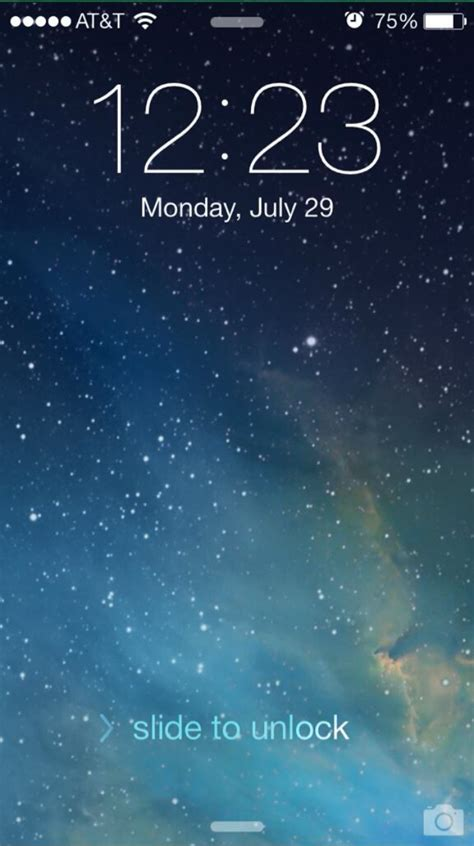 lock screen iphone ios 7 beta 4 seeded to developers tweaks to lock screen