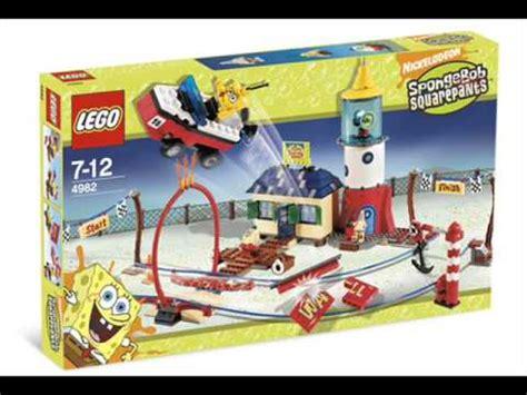 Lego Set by New Lego Set 2007 2009 Spongebob