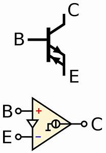 File Cc-opamp-diamond Transistor And Opamp Symbol Svg