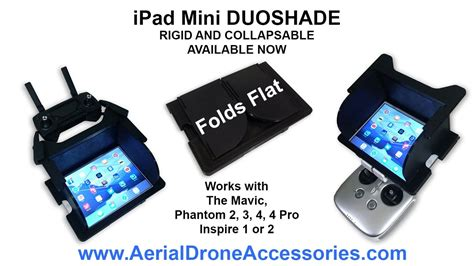 duoshade ipad mini sunshade   dji mavic inspire