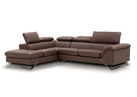 Caracas Sectional Full Leather Sectionals Living Room