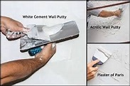 What is difference between plaster of paris and wall putty ...
