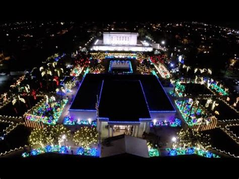 mesa temple christmas lights from the air mesa arizona temple christmas lights 2014