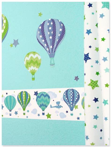 Kinderzimmer Grün Blau by Kinderzimmer Mit Hei 223 Luftballons In Blau Gr 252 N Dinki