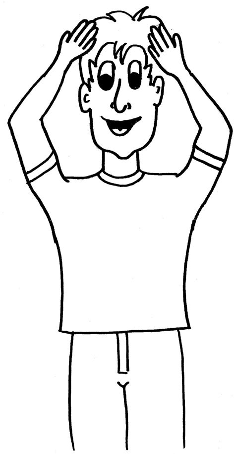 touch clipart black and white touch clipart 13
