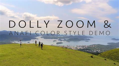 parrot anafi dolly zoom goview goview