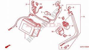 Battery For Honda Vtr 1000 Sp1 100cv 2001   Honda