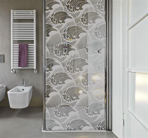 tsunami wave shower sticker tenstickers