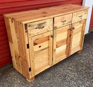Made Com Sideboard : wood pallet sideboard 99 pallets ~ Michelbontemps.com Haus und Dekorationen