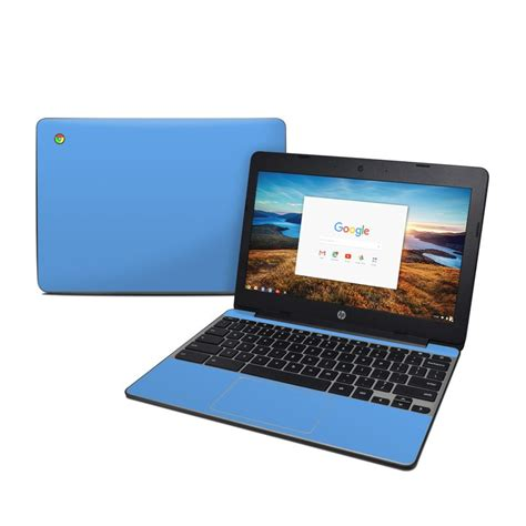 chromebook colors hp chromebook 11 g5 skin solid state blue by solid