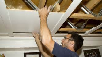 plafond sous sol economique un plafond suspendu prestigieux r 233 novation bricolage
