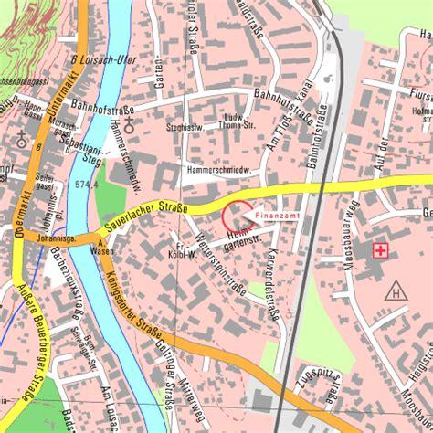 finanzamt wolfratshausen bad toelz kontakt stadtplan