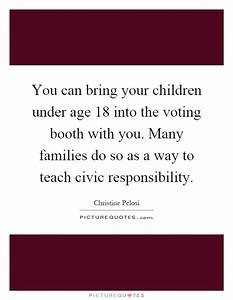 Civic Responsib... Civic Responsibility Quotes