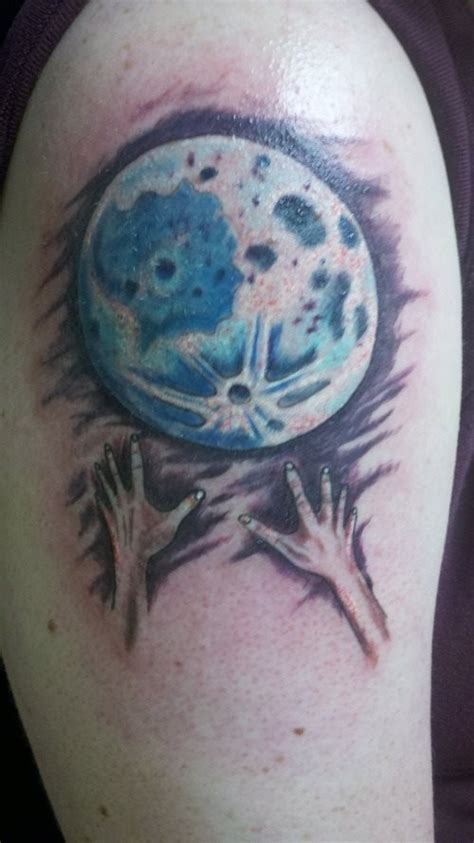 Moon And Sun Tattoo Color
