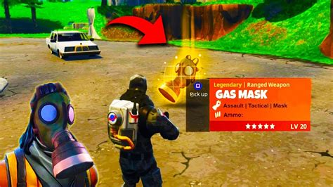 gas mask  fortnite battle royale   survive